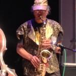 Marshall Allan on alto sax