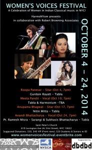 Women Voices Festival Flyer DooBeeDooBeeDoo