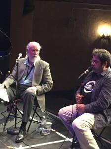 Arturo O'Farrill talk event w. Arturo and Jeff Newell