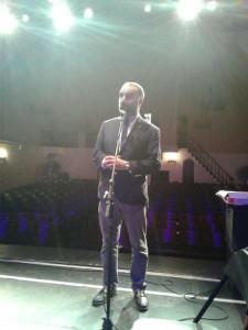 Arturo O'Farrill talk event w. Piruz Partow