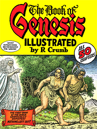 Robert Crumb book cover THE BOOK OF GENESIS