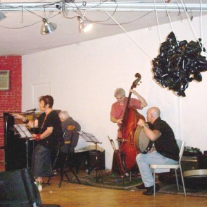 Dissident Arts Festival 2012 with the Karl Berger Quartet.