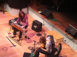 Mary Halvorson & Susan Alcorn (photo by Sohrab Saadat Lasjevardi)