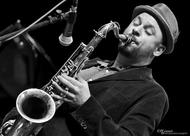 Swiss sax player Christoph Irniger