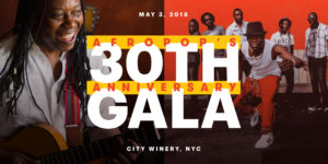 2018 Afropop's 30th Anniversary Gala @ City Winery  | New York | New York | United States